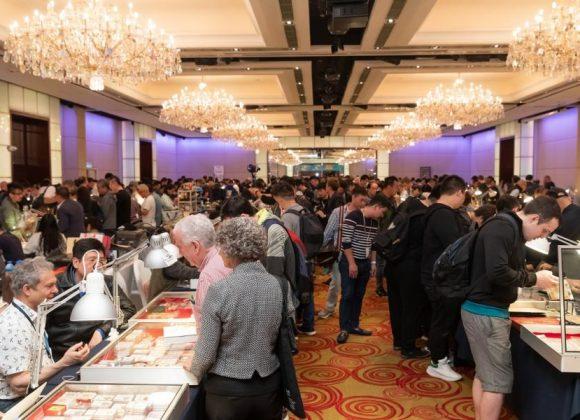 香港國際錢幣展銷會及古董錶交易會逾兩千人入場